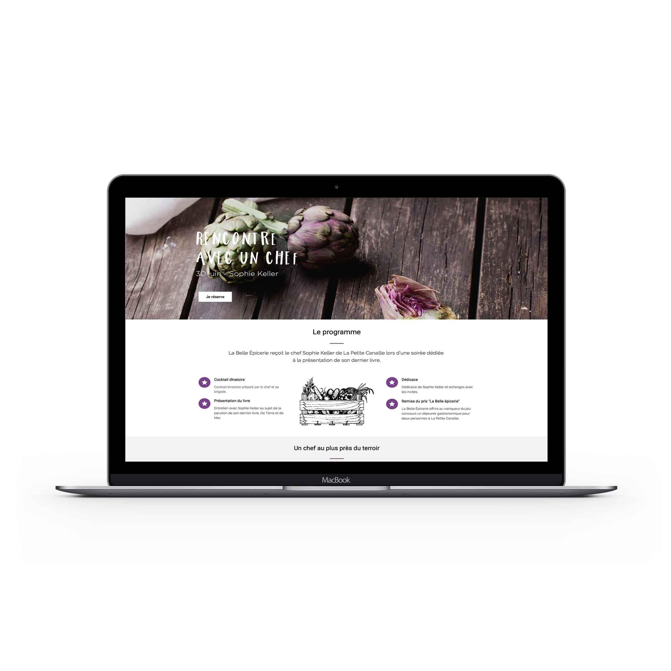 mini-site-web