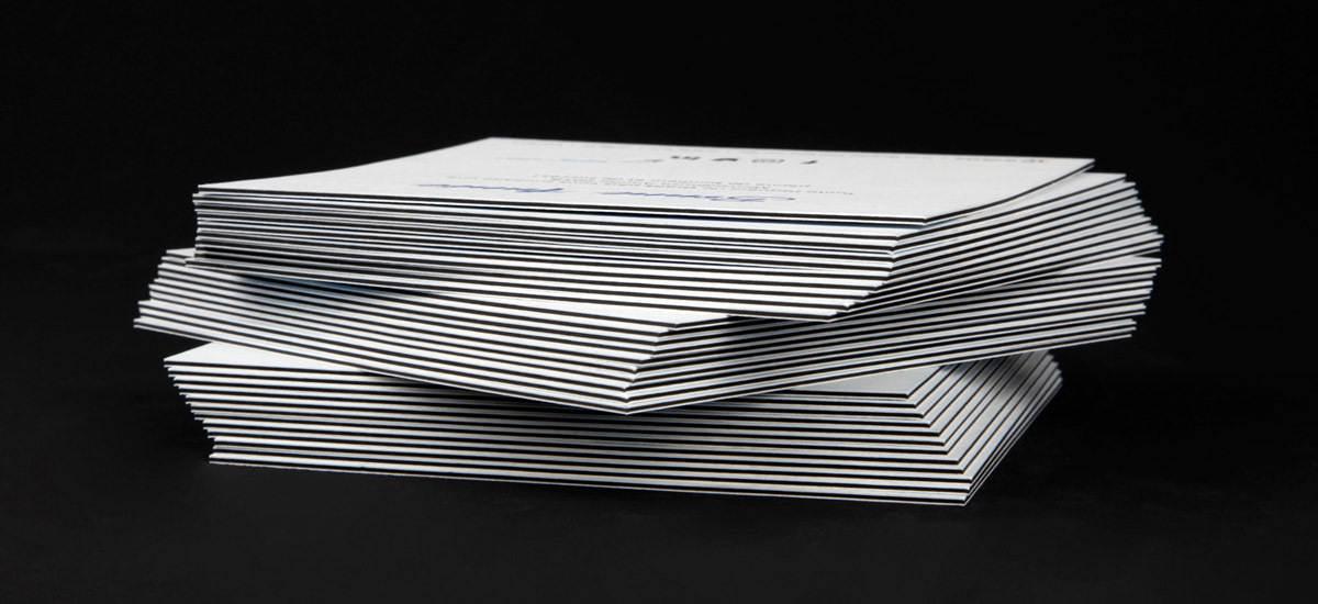 slice paper, luxe, print, papier