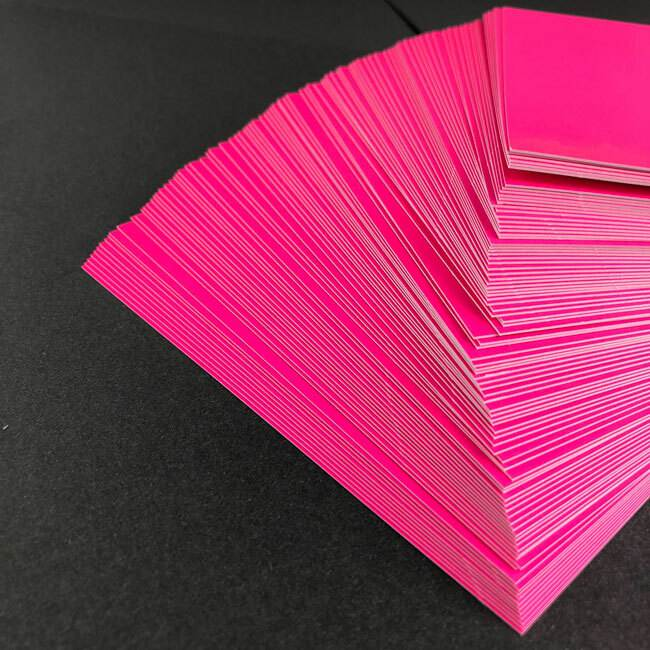 rose fluo cartes invitation luxe