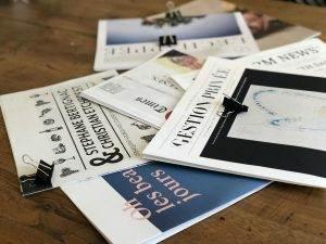 format tabloïd, print