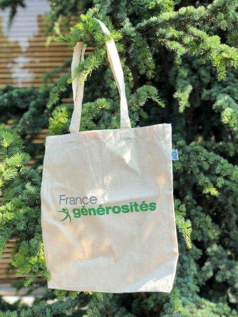 tote bag, écologique, coton, recyclé