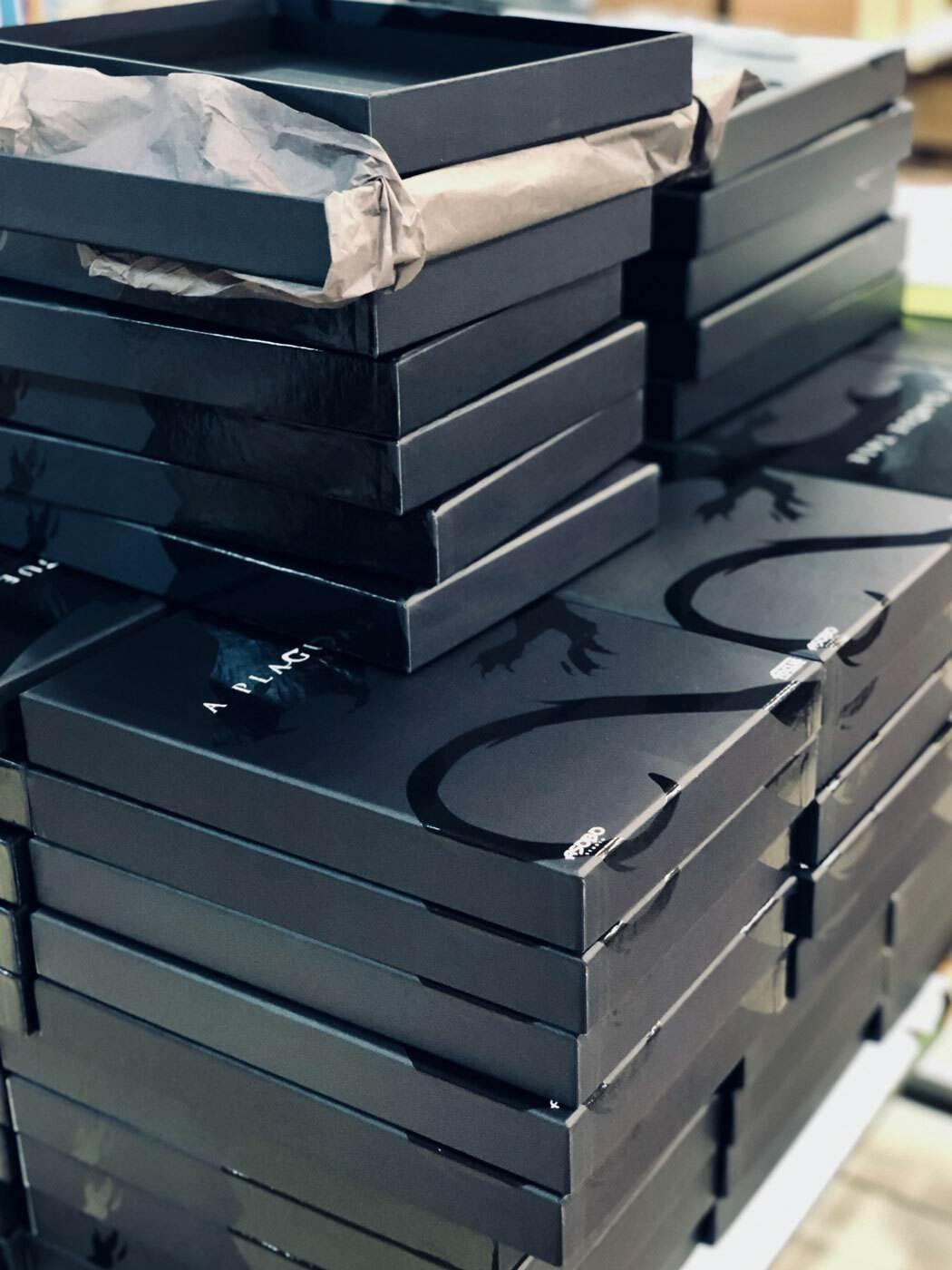 coffret packaging vernis sélectif print
