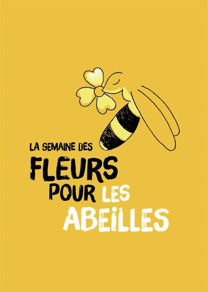 affiche-semaine-fleurs-abeilles